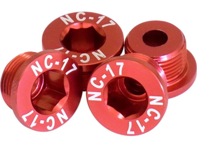 NC-17 4er T6 4 gaats SRAM M10 rood